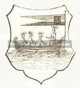 boot van stadswapen